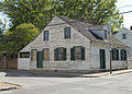 Photograph of the side of the Dr Benjamin Shaw House--Ste Genevieve MO.jpg