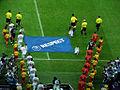 Piłkarze wchodzą na boisko POL-RUS.jpg