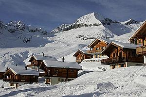 Belalp - Belalp in winter
