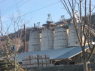 Adhesive - Modern slaked lime factory in Ukraine