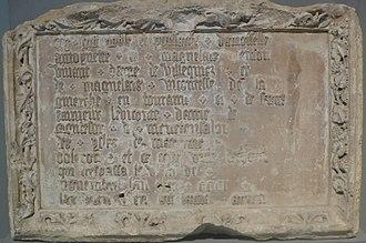 Antoinette de Maignelais - Tombstone