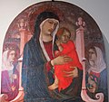 Pietro lorenzetti, madonna col bambino tra le sante agnese e caterina, 1310-15 ca. 02.JPG