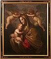 Pietro ricchi detto il lucchesino, madonna col bambino incoronata da angeli, 1665-70 ca.jpg