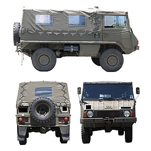 Pinzgauer High-Mobility All-Terrain Vehicle - Pinzgauer 710M 4×4 model