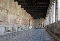 Pisa - Camposanto monumentale, corridoio.JPG