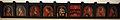 Pittore cremonese, tavolette da soffitto, 1500 ca. 01 da un palazzo vimercati a cremona 07.JPG