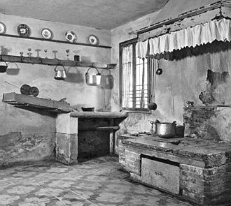 Pope Pius X - Kitchen of the Sarto family in Riese