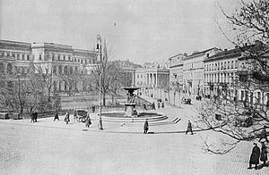 Bank Square, Warsaw - Bank Square before 1939