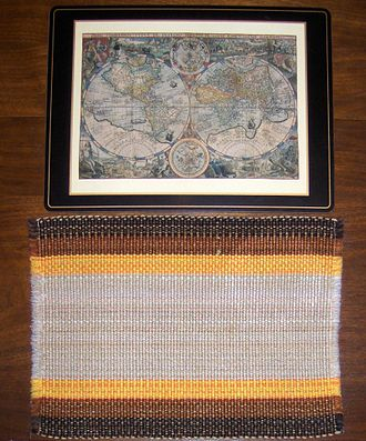 Placemat - Image: Placemats Cork and Fabrics