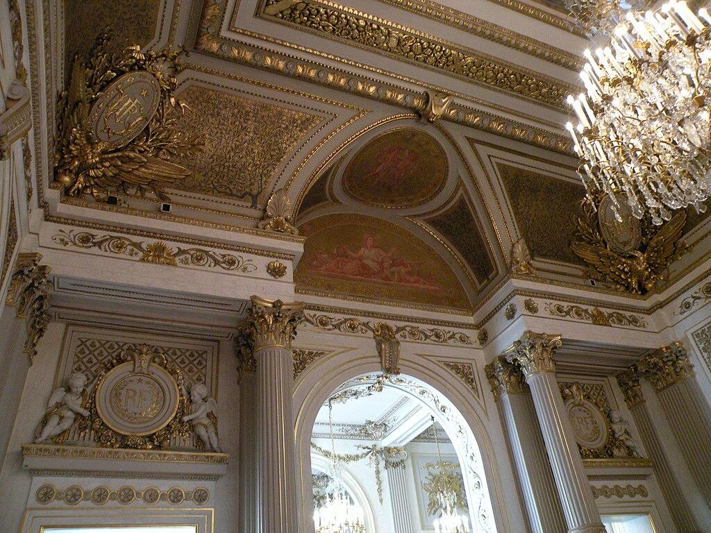 File plafond salon napoleon iii elysee jpg wikimedia commons for Plafond de salon