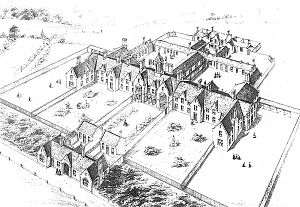 Scottish poorhouse - Image: Plan for Aberdeen Poorhouse