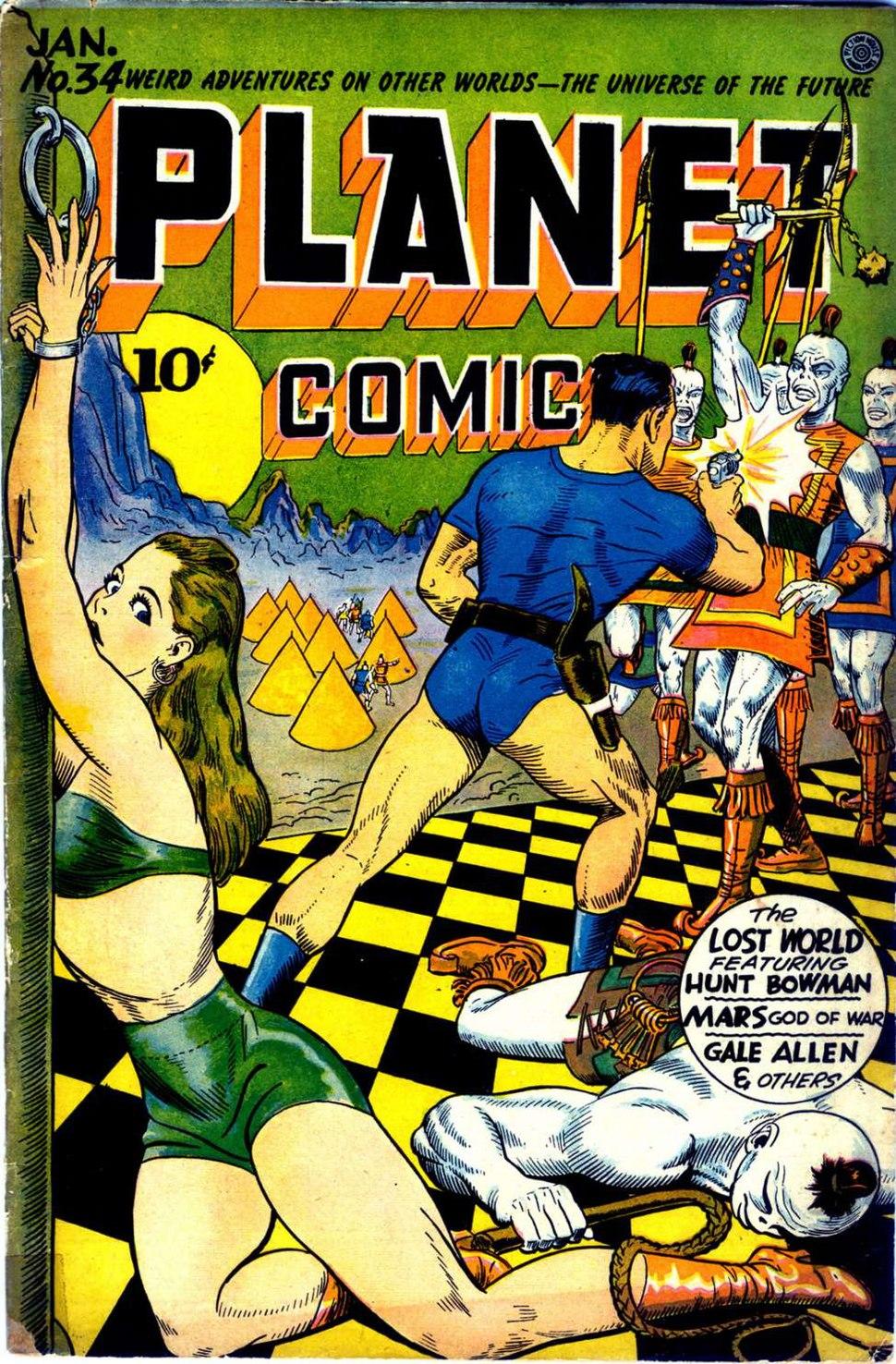 Planet Comics 34