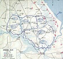 Map Of Drop Zones In France.Battle Of Graignes Wikipedia