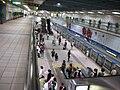Platform of Blue Line in Zhongxiao Fuxing Station 20080729.jpg