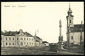 Sereď - Image: Pohladnica