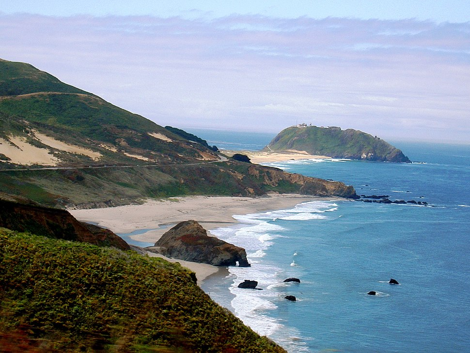 Point Sur from the north