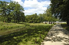 Poland, Łęknica - borderline bridge at Muskau Park.jpg