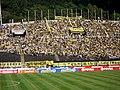 Polideportivo de Pueblo Nuevo - Tribuna Central.JPG