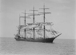 Ponape (barque) - Image: Ponape SLV H91.250 971