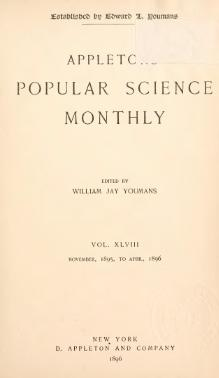 Popular Science Monthly Volume 48.djvu