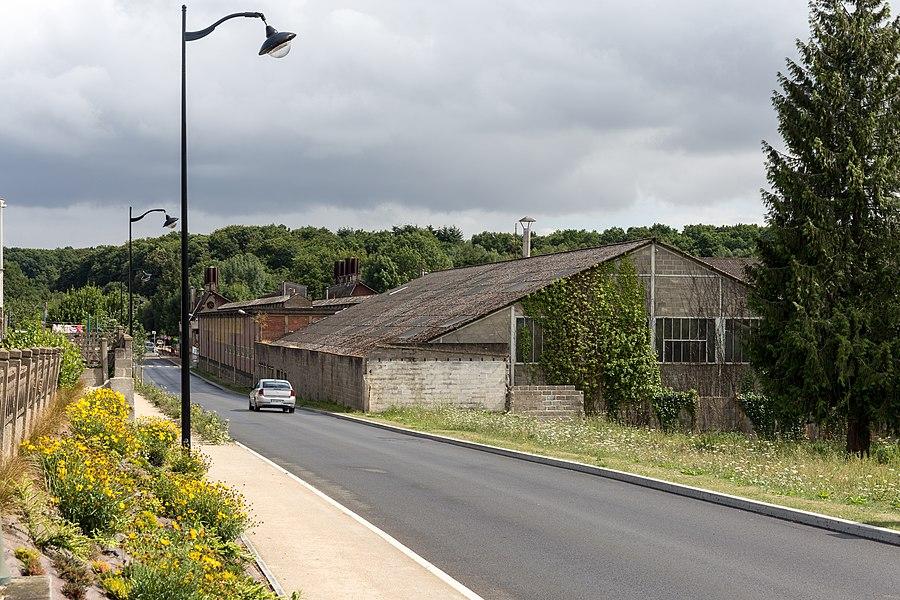 Former factory of Port-Brillet.