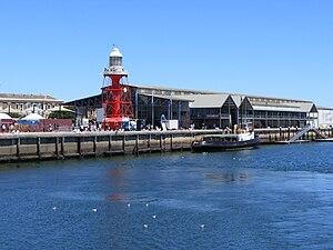 Port Adelaide Lighthouse - Image: Port Adelaide Dock from Port River