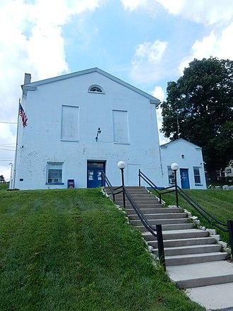 Port Carbon, Pennsylvania - Image: Port Carbon Borough Hall, Schuylkill Co PA 02