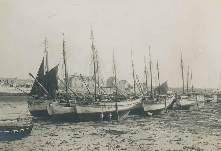 Harbour of Guilvinec - Léchiagat (Finistère), 1930s