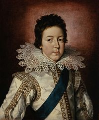 Portrait of Louis XIII, King of France as a Boy