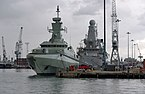 Portsmouth MMB 29 Royal Naval Dockyard - Ships of the Royal Saudi Navy.jpg
