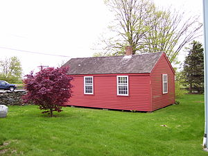 Portsmouth, Rhode Island - The 1725 schoolhouse owned by the Portsmouth Historical Society is one of the oldest surviving in the U.S.