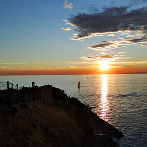 Gulf of Koper - Rt Madona, the southernmost point of the gulf