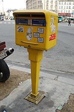File:Post box, Rue du 8 Mai 1945, Paris - Andy Mabbett - 2014-02-01.jpg