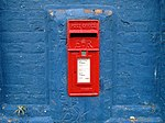 Post box on Dickens Street, Liverpool.jpg