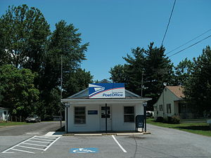 Sperryville, Virginia - US Post office in Sperryville