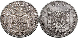 Испанские монеты 17 века 15 копеек 1787 год