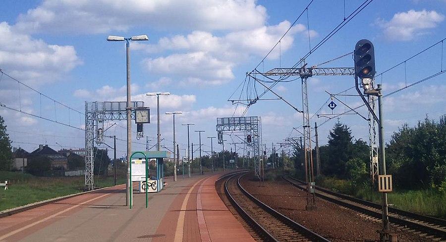 Poznań Górczyn railway station
