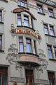 Prague Praha 2014 Holmstad Hotel Central i nybyen jugend art nouveau architecture.jpg