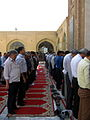 Prayers of Noon - Grand Mosque of Nishapur -September 27 2013 26.JPG