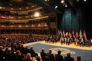 Princess of Asturias Awards - The Princess of Asturias Awards are celebrated in the Theatre Campoamor of Oviedo
