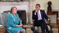 File:President Obama and President Michelle Bachelet of Chile.webm