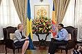 President and Anna Jardfelt Seychelles ambassador.jpg