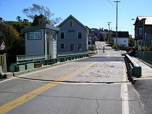 South Bristol, Maine - Swing bridge