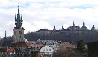 Příbram Town in Central Bohemian, Czech Republic