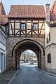 Prichsenstadt, Stadtbefestigung, Vorstadttor-20151228-003.jpg