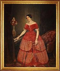 Prilidiano Pueyrredón: Retrato de Manuelita Rosas