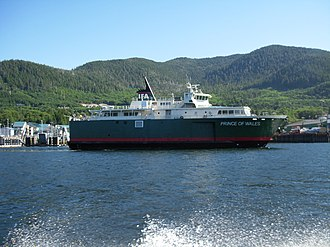 MV Prince of Wales - Image: Prince of Wales ferry, Ketchikan
