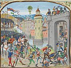 The storming of Caen