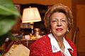 Prof.ssa Maria Rita Saulle nel suo studio alla Corte cost.jpg