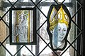 Prophet, France, c 1390-1410 and Panel with Head of a Bishop, South Lowlands, c 1440-60 (14470911318).jpg